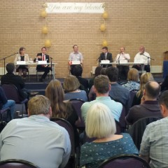 At Thatcham Hustings